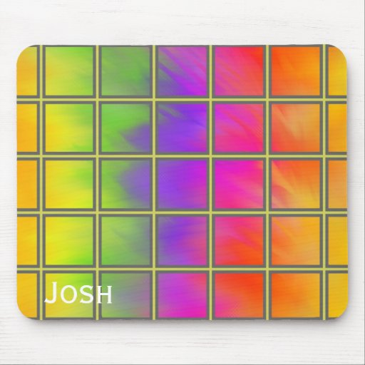 """Rainbow Window"" Mouse Pad by Spring Art 2012 Mouse Pads"