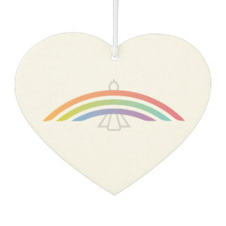 Rainbow Winged Dove (soft) Car Air Freshener