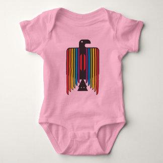 Rainbow Winged Thunderbird Baby Bodysuit