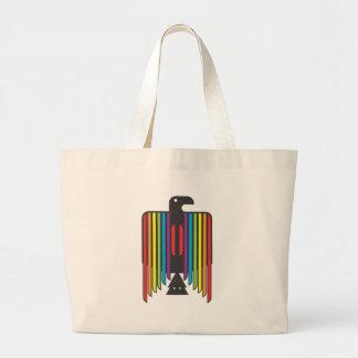 Rainbow Winged Thunderbird Canvas Bags