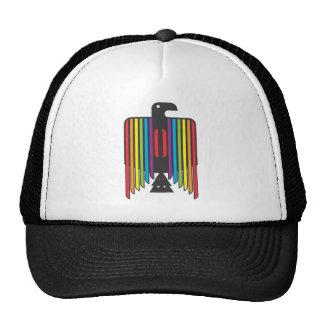 Rainbow Winged Thunderbird Cap