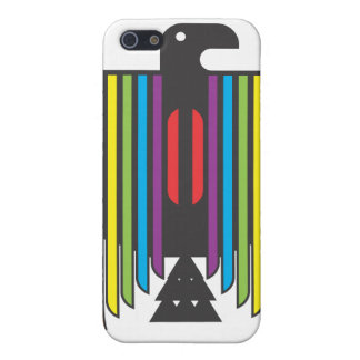 Rainbow Winged Thunderbird Cover For iPhone 5