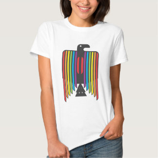 Rainbow Winged Thunderbird T Shirts