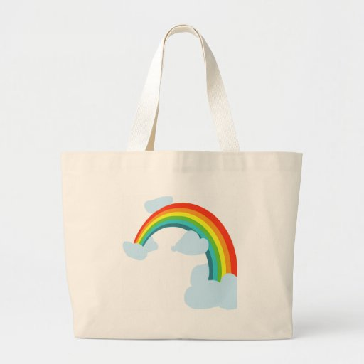 RAINBOW. WITH CLOUDSpng Tote Bag