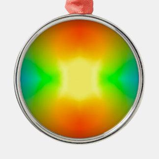 Rainbow World Christmas Ornament