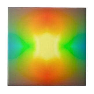Rainbow World Tile