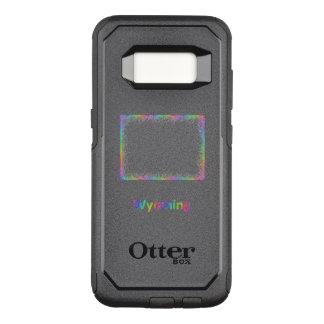 Rainbow Wyoming map OtterBox Commuter Samsung Galaxy S8 Case