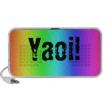 Rainbow Yaoi Laptop Speakers