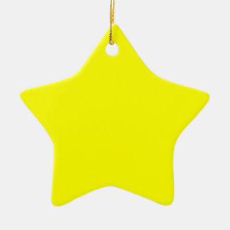 Rainbow Yellow Christmas Ornaments
