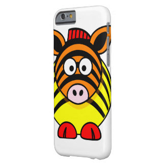 Rainbow Zebra Barely There iPhone 6 Case