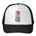 Rainbow Zebra Initials I