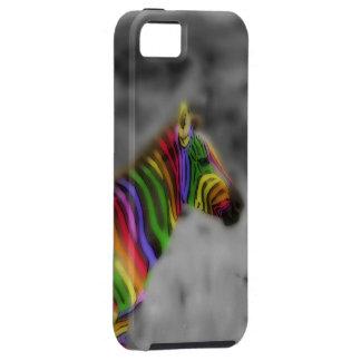 Rainbow Zebra iPhone 5 Cover