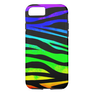 Rainbow Zebra iPhone 7 Case