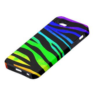 Rainbow Zebra Print Case For The iPhone 5