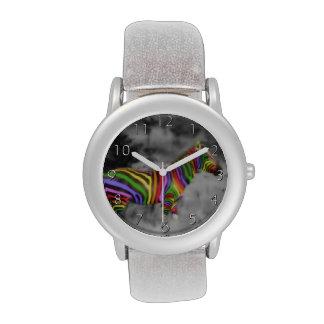Rainbow Zebra Wristwatches