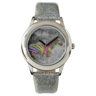 Rainbow Zebra Watches