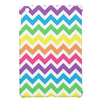 Rainbow Zigzag Case For The iPad Mini