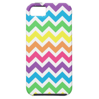 Rainbow Zigzag iPhone 5 Case