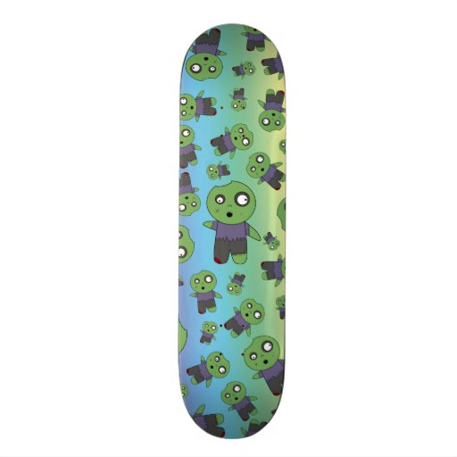 Rainbow zombies skate boards