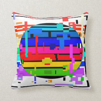 RAINBOWED SETTING OR RISING SUN ©2013 James Warren Cushion