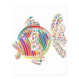 RainbowFish Greeting Card Postcard