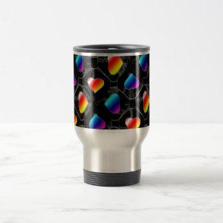 rainbowheartsretrobig coffee mug