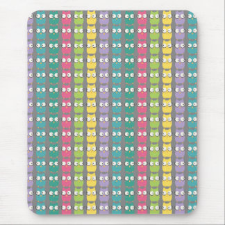 RainbOwls Pattern Mousepad