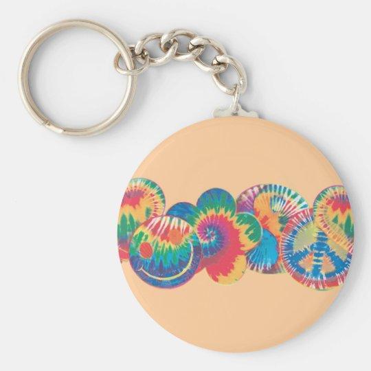 RainbowPeace Key Ring