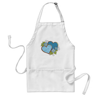 Rainbows-008 Shades of Blue Standard Apron