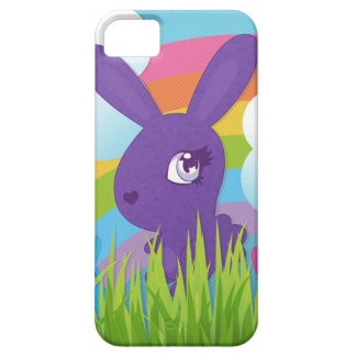 Rainbows and Bunnies Barely There iPhone 5 Case