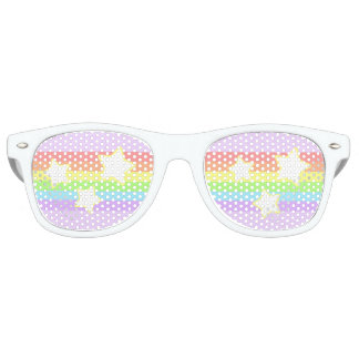 Rainbows and Stars Glasses
