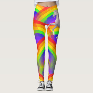 Rainbows and Unicorn Leggings