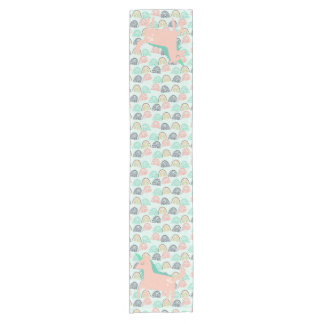 Rainbows and Unicorns Short Table Runner
