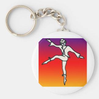 Rainbow's Dance Key Chain