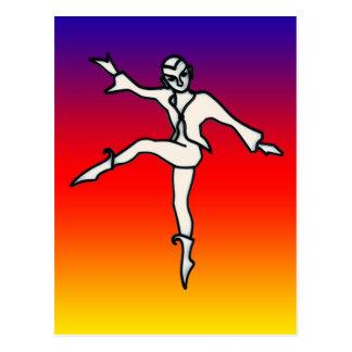 Rainbow's Dance Postcard