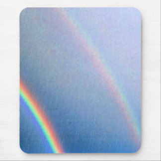 Rainbows in the Rain Mouse Mat