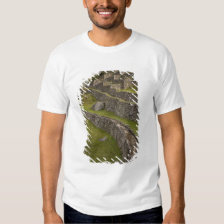 Rainbows over the agricultural terraces, Machu Shirt