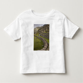 Rainbows over the agricultural terraces, Machu Toddler T-Shirt