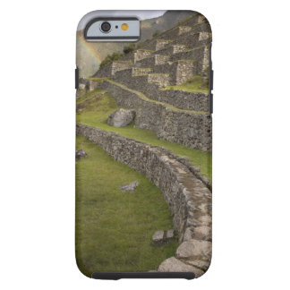 Rainbows over the agricultural terraces, Machu Tough iPhone 6 Case