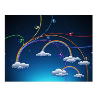 Rainbows Post Card