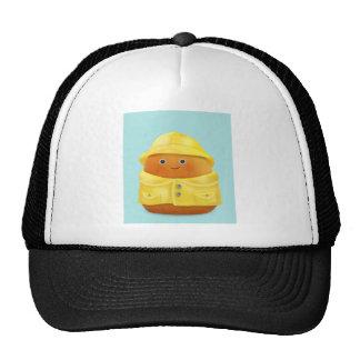 Raincoat Ruby Mesh Hats
