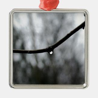Raindrop Christmas Ornament
