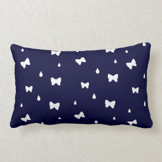 Raindrops and Butterflies Name Template Pillow