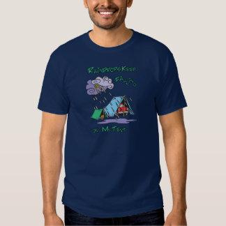 Raindrops Camping T Shirts