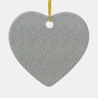 raindrops christmas ornament
