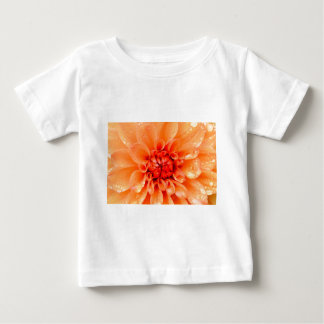 Raindrops in Spring Floral Design Baby T-Shirt