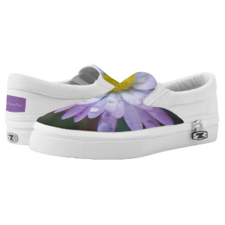 Raindrops on a daisy printed shoes