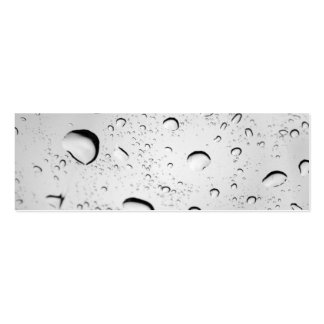 Raindrops on Glass Business Cards