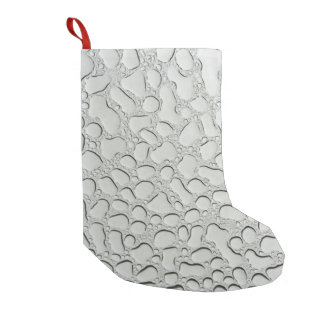 Raindrops on Glass Roof Small Christmas Stocking