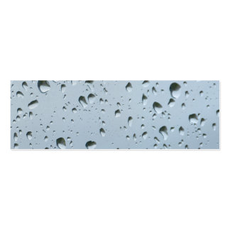 Raindrops Pack Of Skinny Business Cards